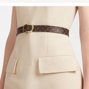 Louis Vuitton Belt Damier Ebene 95cm Authentic
